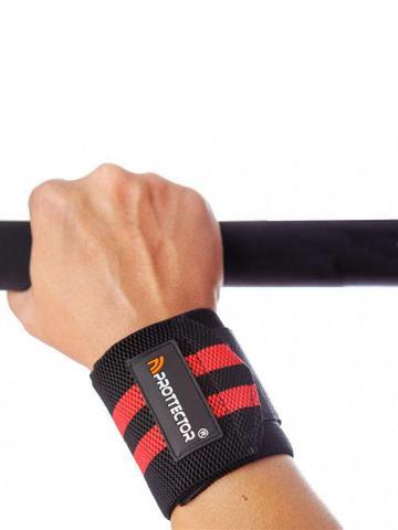 Imagem de Munhequeira Profissional Crossfit Powerlifting Lpo Pulso