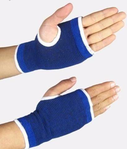 Imagem de Munhequeira Tensor Suporte Elástico Protetor Punho Mão Pulso