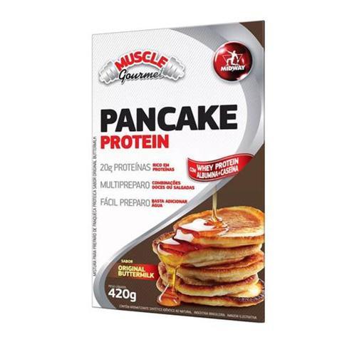 Imagem de Muscle Gourmet Pancake Protein Buttermilk Midway - Suplemento