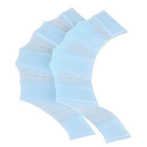 Imagem de Nadadeira De Mão De Silicone 5sports Azul G