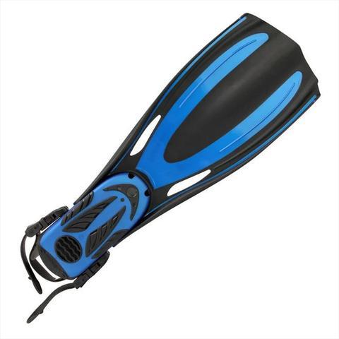 Imagem de Nadadeira De Mergulho Mormaii Flexxa Tam G Azul