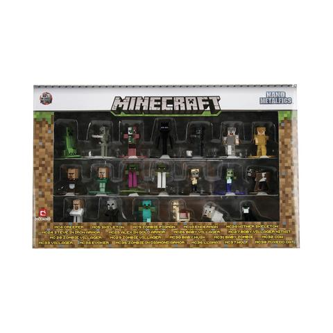 Imagem de Nano Figure Minecraft DTC 20 Miniaturas Metal Die Cast