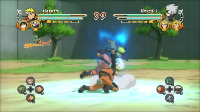Imagem de Naruto Ultimate Ninja Storm Trilogy PS4