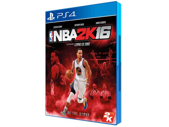 Jogo Nba 2k16 - Playstation 4 - 2k Sports