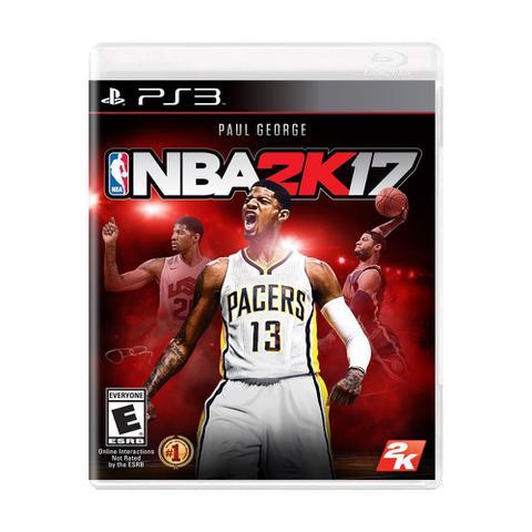 Jogo Nba 2k17 - Playstation 3 - 2k Games