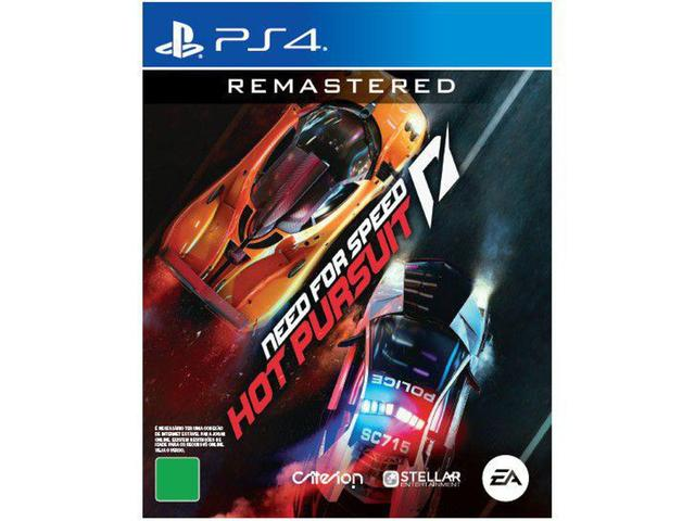 Jogo Need For Speed: Hot Pursuit Remastered - Playstation 4 - Ea Games