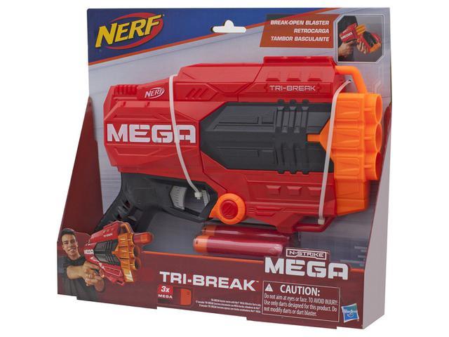 Imagem de Nerf Mega Tri-Break Tambor Basculante Hasbro