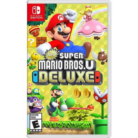 Imagem de New Super Mario Bros U Deluxe Novo - Switch