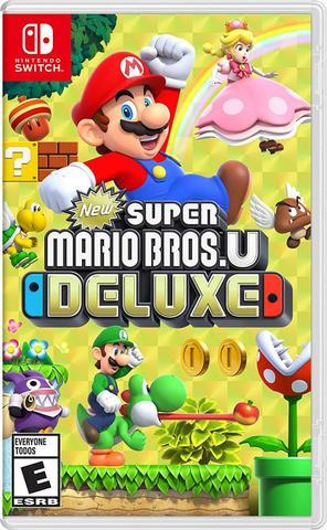 Jogo New Super Mario Bros.u Deluxe - Switch - Nintendo