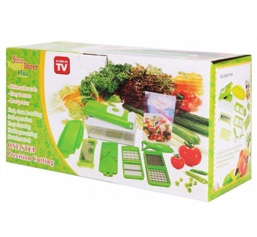 Imagem de Nicer Dicer Plus Cortador Fatiador Legumes Verduras Frutas