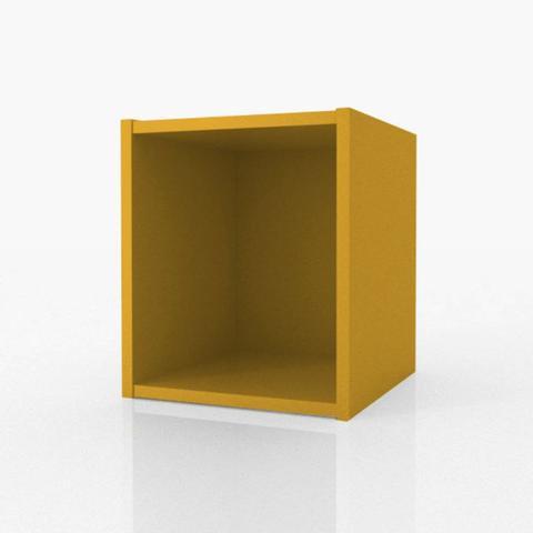 Imagem de Nicho 30 cm Amarelo - Fit Mobel