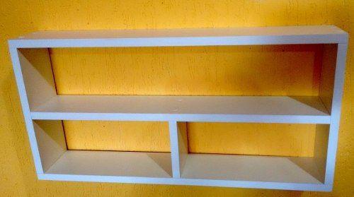 Imagem de Nicho Com Prateleira /divisória 60lx30ax10p 100 Mdf 15mm