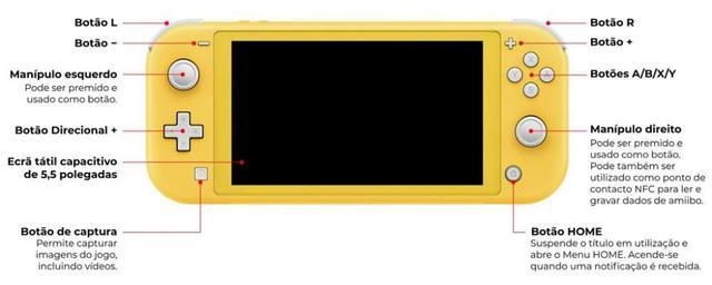 Imagem de Nintendo Switch Lite Turquoise - Turquesa