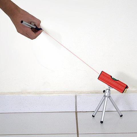 Imagem de Nível a Laser c/ Tripé e alcance 30 metros - NL-1 - Schulz