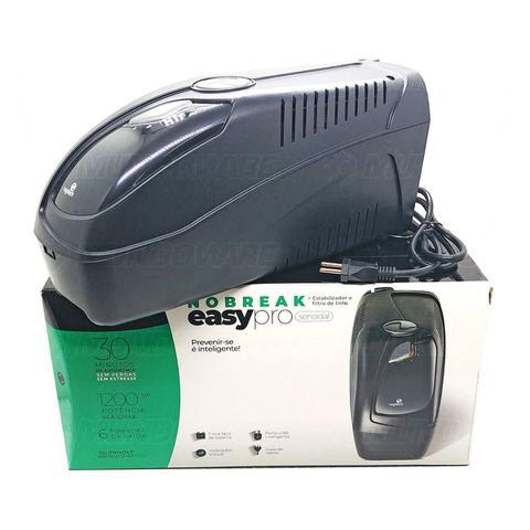 Imagem de Nobreak 1200VA 840W Senoidal Puro 6 Tomadas com Filtro + Estabilizador Troca Fácil de Bateria Trivolt Ragtech EasyPro