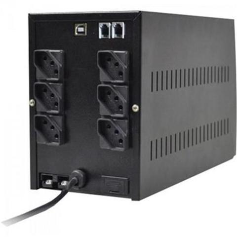 Imagem de Nobreak 1200va Ups Compact Pro Bivolt Preto Ts Shara
