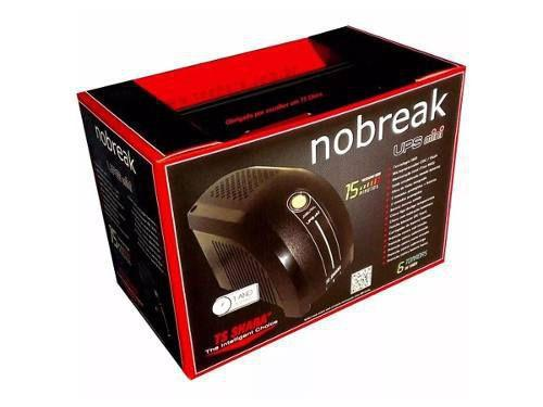 Imagem de Nobreak 600va Ups Mini Bivolt Preto Ts Shara 6 Tomadas