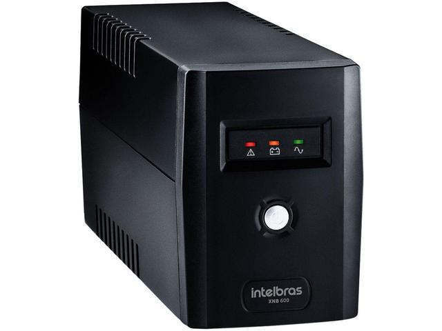 Imagem de Nobreak Intelbras 600VA 4 Tomadas XNB 600 - 4822005-220