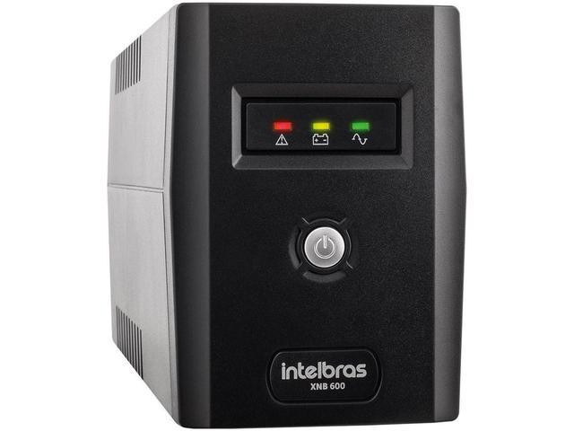 Imagem de Nobreak Intelbras 600VA 4 Tomadas XNB 600