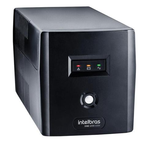 Imagem de Nobreak Intelbras XNB 1200VA 6 Tomadas Preto 220V