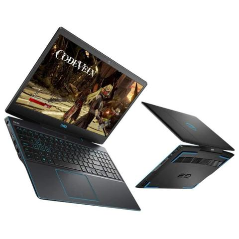 Imagem de Notebook 15,6pol Dell Gaming G3 3590-U60P (Core i7 9750H, 16GB DDR4, SSD 512GB NVME, GTX 1660Ti 6GB, Windows 10 Pro)