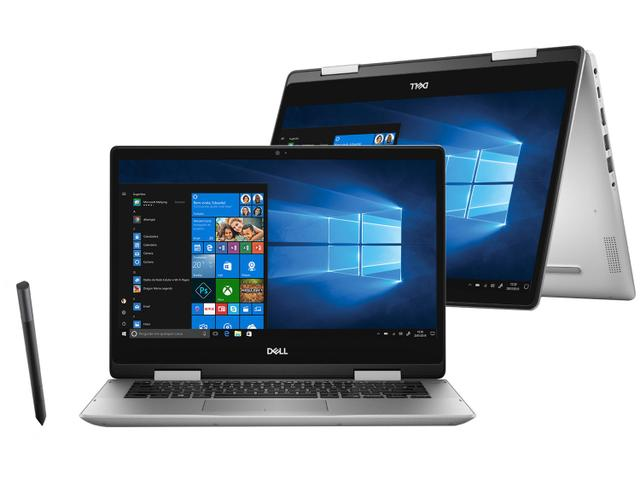 """Notebook - Dell I14-5491-a30s I7-10510u 1.80ghz 8gb 256gb Ssd Geforce Mx230 Windows 10 Home Inspiron 14"""" Polegadas"""