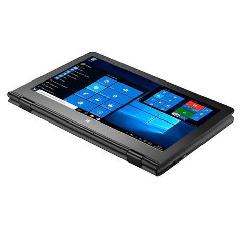 Imagem de Notebook 2 em 1 intel quad tela 11.6 ram 2gb .32gb windows 10 cinza m11w nb258