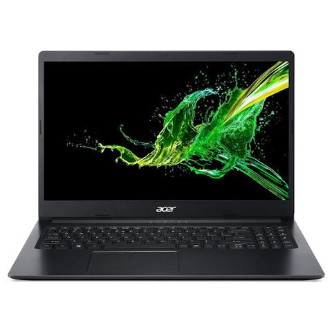 "Notebook - Acer A315-34-c5ey Celeron N4000 1.10ghz 4gb 500gb Padrão Intel Hd Graphics Windows 10 Professional Aspire 3 15,6"" Polegadas"
