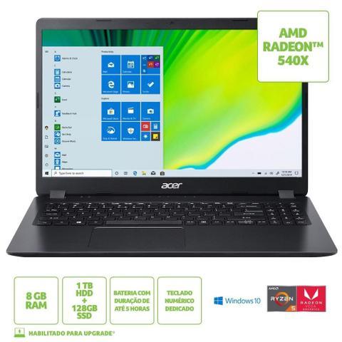 Imagem de Notebook Acer Aspire 3 A315-42G-R7NB Ryzen 5, 8GB, 1TB+128SSD, Tela 15.6
