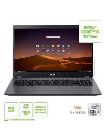 Imagem de Notebook Acer Aspire 3 A315-54-53M1 Intel Core I5 8GB 1TB HD 128GB SSD 15,6' Endless OS Bivolt