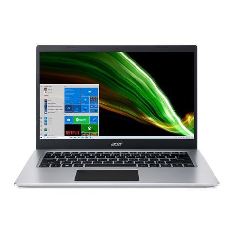"Notebook - Acer A514-53-32lb I3-1005g1 1.20ghz 4gb 128gb Ssd Intel Hd Graphics Windows 10 Home Aspire 5 14"" Polegadas"