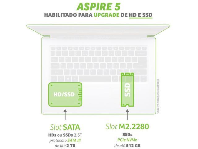 Imagem de Notebook Acer Aspire 5 A515-54-57EN Intel Core i5