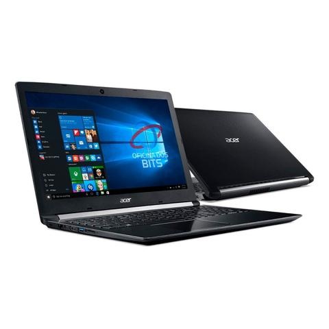 "Notebook - Acer A515-51-c2tq I7-8550u 1.80ghz 8gb 1tb Padrão Intel Hd Graphics 520 Windows 10 Professional Aspire 5 15,6"" Polegadas"