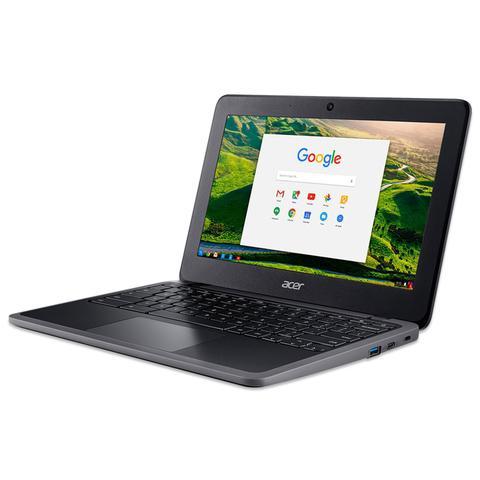 Imagem de Notebook Acer Chromebook Intel 2.8GHz 4GB RAM 32GB SSD Chrome OS Tela 11.6