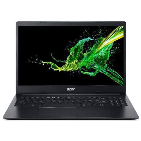 """Notebook - Acer A315-34-c5ey Celeron N4000 1.10ghz 4gb 500gb Padrão Intel Hd Graphics Windows 10 Home Aspire 3 15,6"""" Polegadas"""