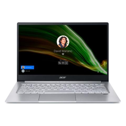 "Notebook - Acer Sf314-59-51rb I5-1135g7 4.0ghz 8gb 256gb Ssd Intel Iris Xe Graphics Windows 10 Home Swift 14"" Polegadas"