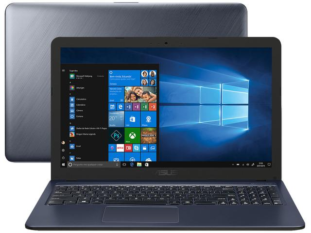 "Notebook - Asus X543ua-gq3213t I5-6200u 2.30ghz 8gb 256gb Ssd Intel Hd Graphics 620 Windows 10 Home Vivobook 15,6"" Polegadas"