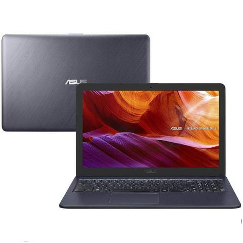 Imagem de Notebook Asus X543MA Celeron 4GB RAM, HD 500GB, Tela 15.6'', Windows 10 - Cinza
