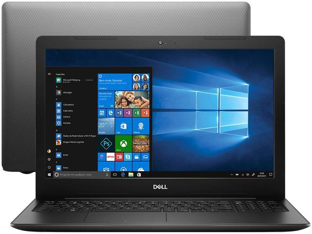 "Notebook - Dell I15-3583-fs1p I5-8265u 3.90ghz 8gb 256gb Ssd Intel Hd Graphics 620 Windows 10 Home Inspiron 15,6"" Polegadas"