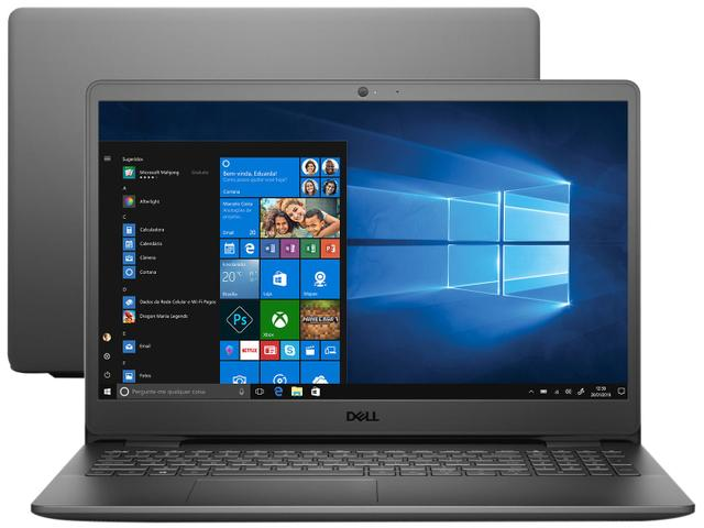 "Notebook - Dell I15-3501-a25p I3-1005g1 1.20ghz 4gb 256gb Ssd Intel Hd Graphics Windows 10 Home Inspiron 15,6"" Polegadas"