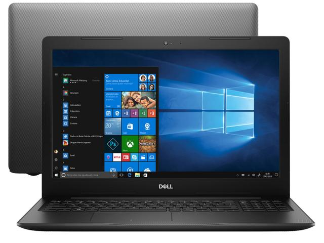 Notebook - Dell I15-3584-as40p I3-7020u 2.30ghz 4gb 128gb Ssd Intel Hd Graphics 620 Windows 10 Home Inspiron 15,6