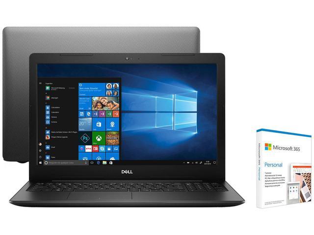 "Notebook - Dell I15-3584-as40p I3-7020u 2.30ghz 4gb 128gb Ssd Intel Hd Graphics 620 Windows 10 Home Inspiron 15,6"" Polegadas"