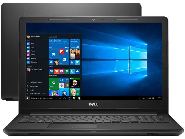 Imagem de Notebook Dell Inspiron 15 Série 3000 i15-3576-A62C