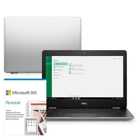 """Notebook - Dell I14-3481-m30sf I3-8130u 2.20ghz 4gb 1tb Padrão Intel Hd Graphics 620 Windows 10 Home Inspiron 14"""" Polegadas"""