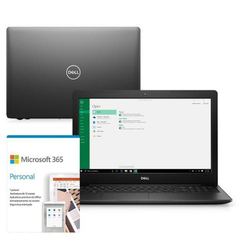 "Notebook - Dell I15-3583-ms90pf I7-8565u 1.80ghz 8gb 256gb Ssd Intel Hd Graphics Windows 10 Home Inspiron 15,6"" Polegadas"