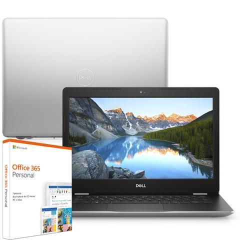 Imagem de Notebook Dell Inspiron i14-3481-M10F 7ª Geração Intel Core i3 4GB 1TB 14