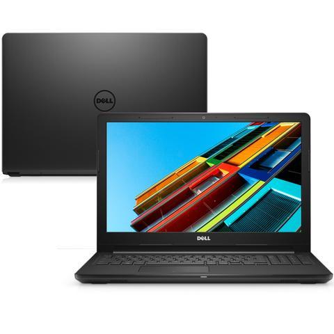 Imagem de Notebook Dell Inspiron i15-3567-U15P 7ª Geração Intel Core i3 4GB 1TB 15.6