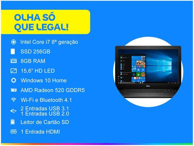 Imagem de Notebook Dell Inspiron i15-3583-AS100P Intel Core