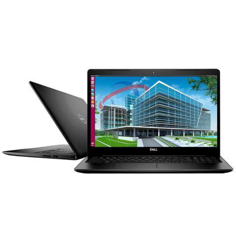"Notebook - Dell I15-3583-us90p I7-8565u 1.80ghz 8gb 256gb Ssd Intel Hd Graphics Linux Inspiron 15,6"" Polegadas"