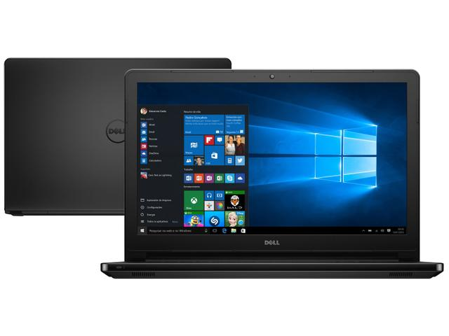 Imagem de Notebook Dell Inspiron i15-5566-A10P Intel Core i3